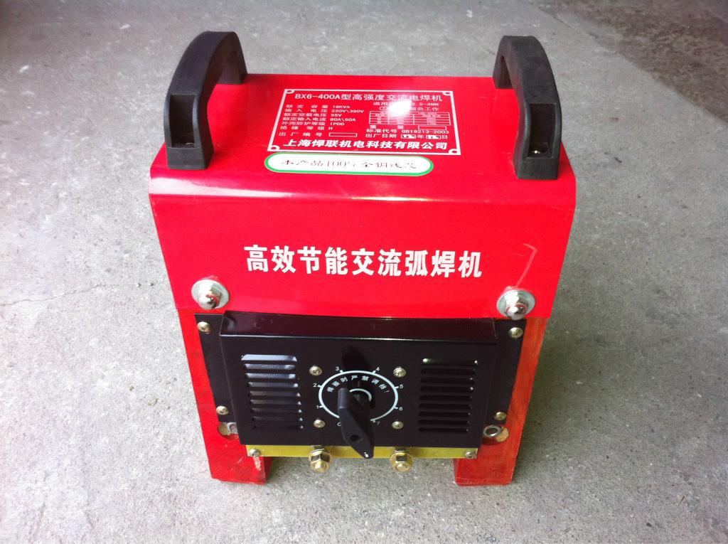 厂家直销交流电焊机BX6 400A 100 全铜线芯 电压双用220V 380V -价图片