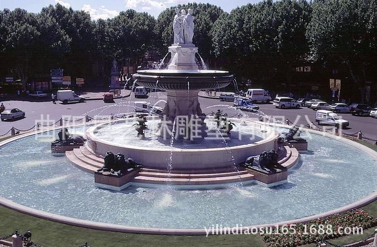 艺林品质【喷泉】 欧式喷泉 水景雕塑 假山 喷泉 加工定制图片