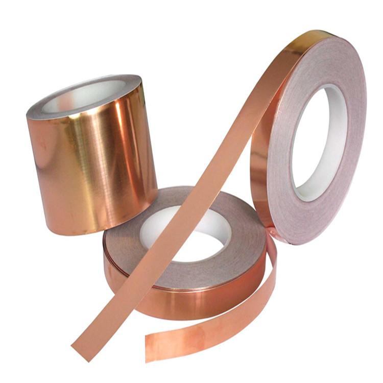 供应导电铜箔,变压器电磁屏蔽专用铜箔胶带