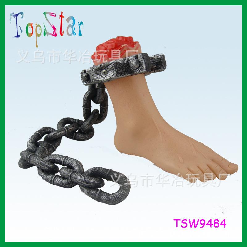 义乌厂家低价供应 万圣节/狂欢节 鬼节断脚铁链