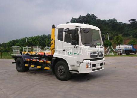 广和GR5140ZXX车厢可卸式垃圾车ISDe185东风康明斯发动机