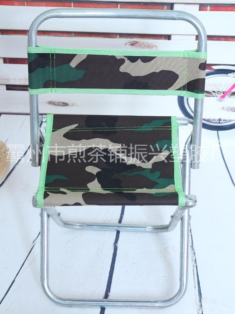 生产批发折叠靠背凳 钓鱼凳 镀锌管折叠椅 靠背马扎 户外钓鱼椅子
