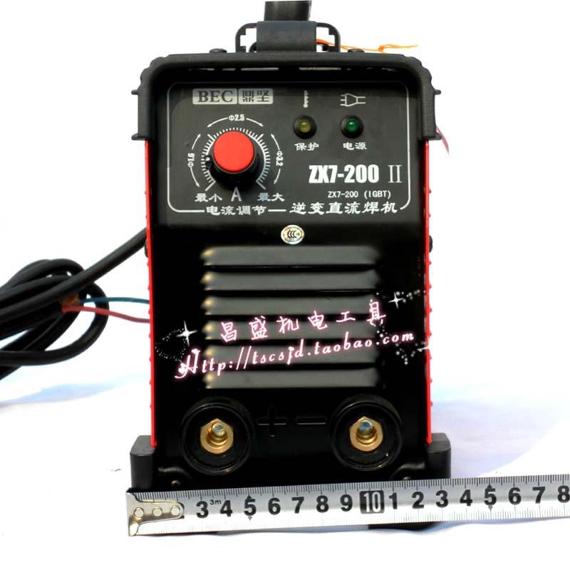 电焊机 批发 东森集团 正品鼎坚ZX7 200II逆变直流电焊机 便携焊机 电图片