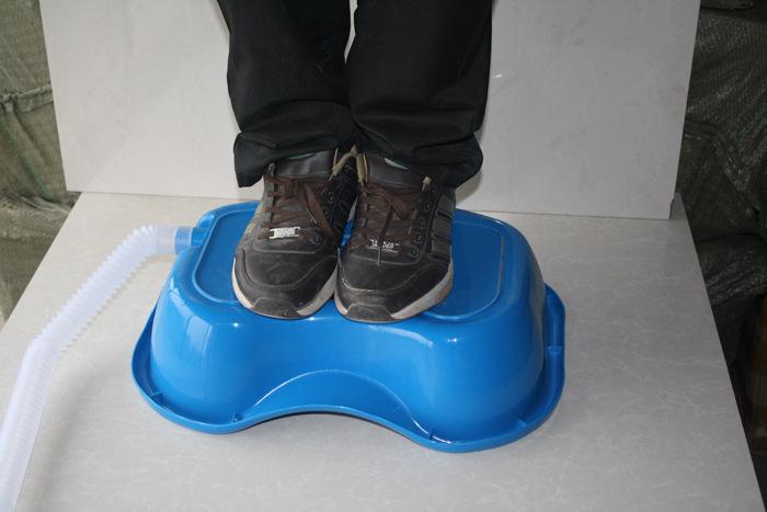 Комплектующие для косметических приборов Аутентичные постели пациента в лежачем положении для умывальника голова бассейна Blue кровать медицинская кровать товары для грудничков
