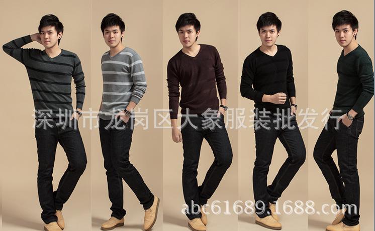 Áo len nam tay dài đa kiểu