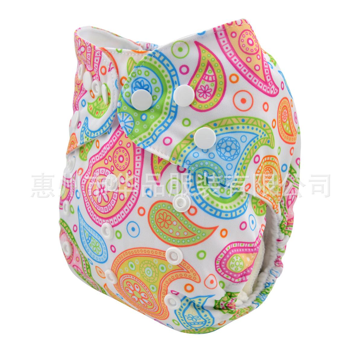 2015秋季新品婴儿布尿裤 可洗可调透气防漏防水尿裤罩 Nappy