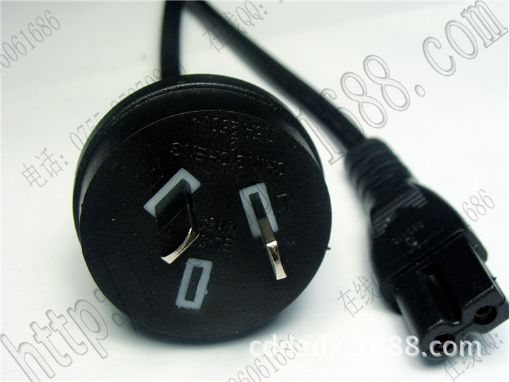 电源线 澳洲电源线 澳式 澳规插头线 厂家