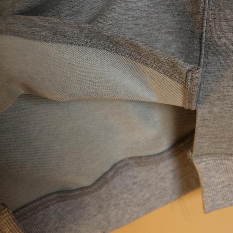 外贸2015春季女装新款日系圆领刺绣字母花纯棉 打底衫 女 式