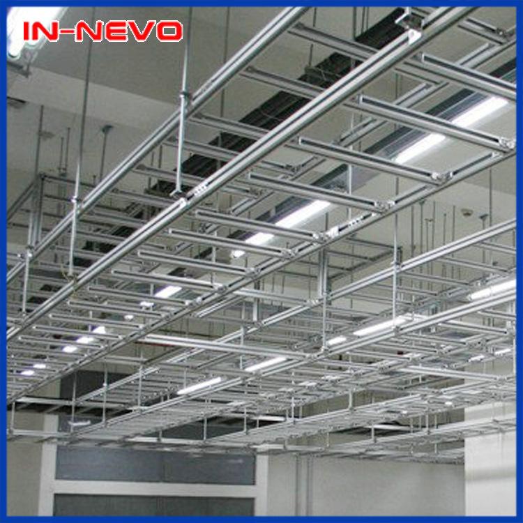 生产销售 嘉兴铝型材机房走线架 可提供封闭式走线架加工