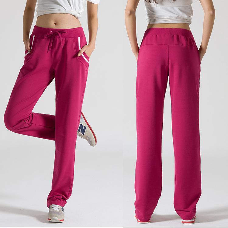 2014新款休闲时尚女式直筒运动裤 系带休闲女-女式休闲长裤 女式休闲