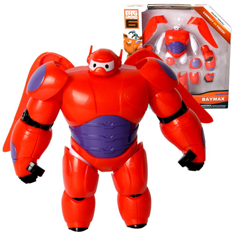 Toys For Fat : Brand super marines big hero baymax white fat red armor