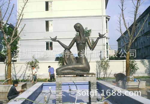 【欧式人物雕塑卡通人物雕塑玻璃钢人物雕塑】广东玻