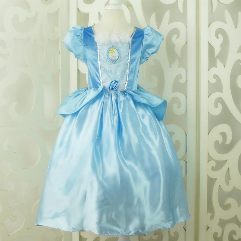 原单迪士尼灰姑娘公主裙 图片 高清大图