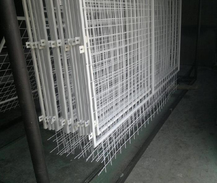 供应铁丝网 PVC框架护栏 公路护栏网 隔离网