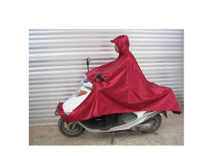 批发销售防风防雨加厚超大单人双人摩托车电动车成人雨衣