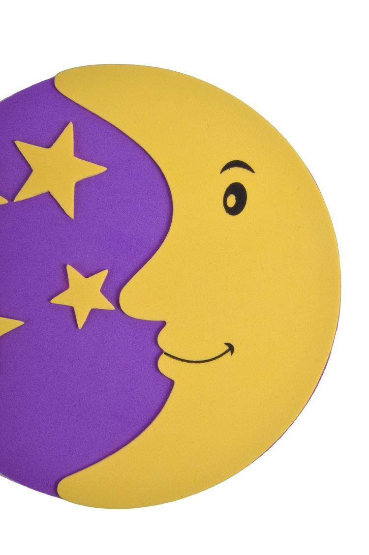 室内装饰贴画 儿童室内装饰贴画 月亮 厂家批发直销 阿里巴巴