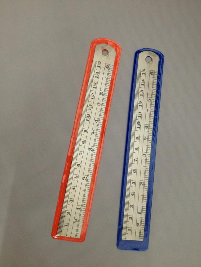 【15公分钢直尺 厘米 英寸 直尺 学习尺子 厂家