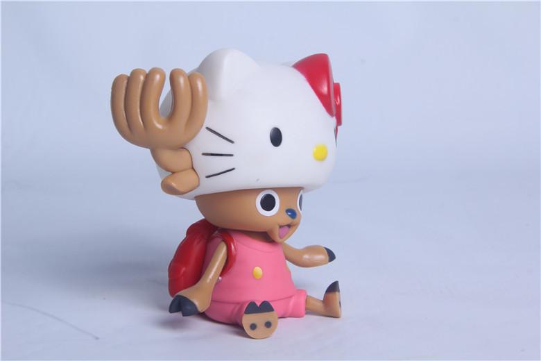 海贼王乔巴KT猫公仔储蓄罐存钱罐手办模型玩具