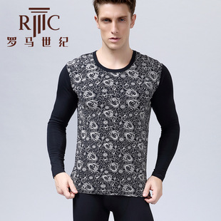 Thermal underwear Thermal underwear suits of bamboo fiber big yards Warm warm clothing RM1809