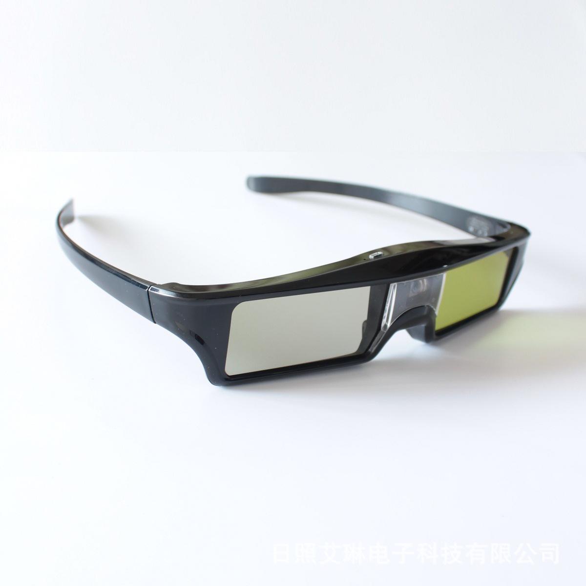 酷乐主动快门式3D眼镜极米山水DLP-link投影机通用 兼容左右上下