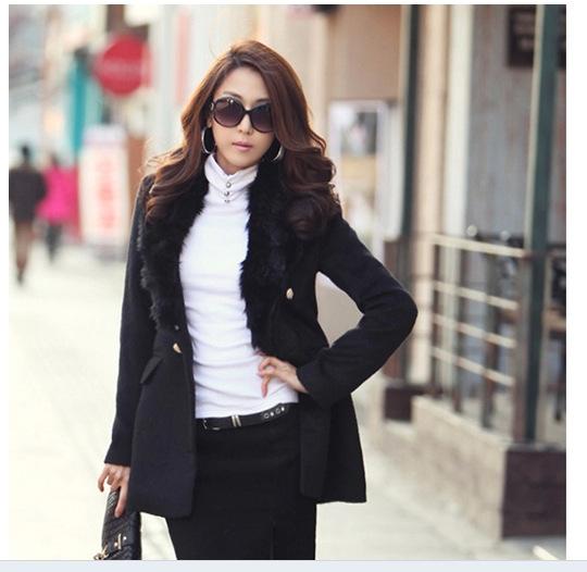 秋冬装 高领三颗扣韩版女装长袖T血纯棉莱卡时尚加厚 打底长袖衫