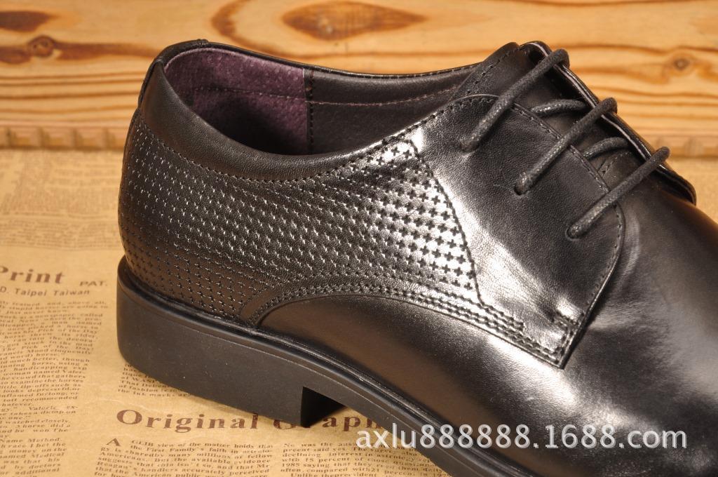批发英伦商务正装皮鞋 高端男鞋真皮商务男士皮鞋 欧美品牌男鞋