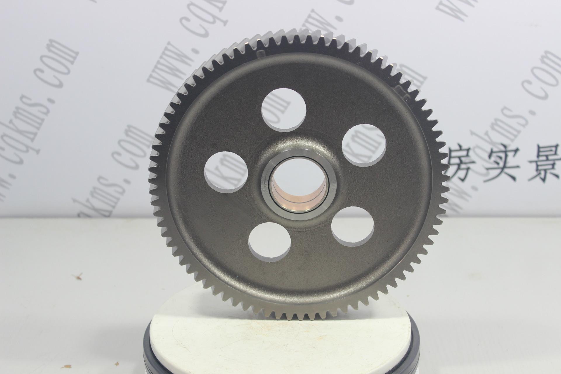 kms01100-3004593-水泵中间齿轮总成-用于k38康明斯发动机-k38-参考规格外径26.2cm,内径4.8cm,厚3cm-参考重量5.35kg-5.35kg图片2