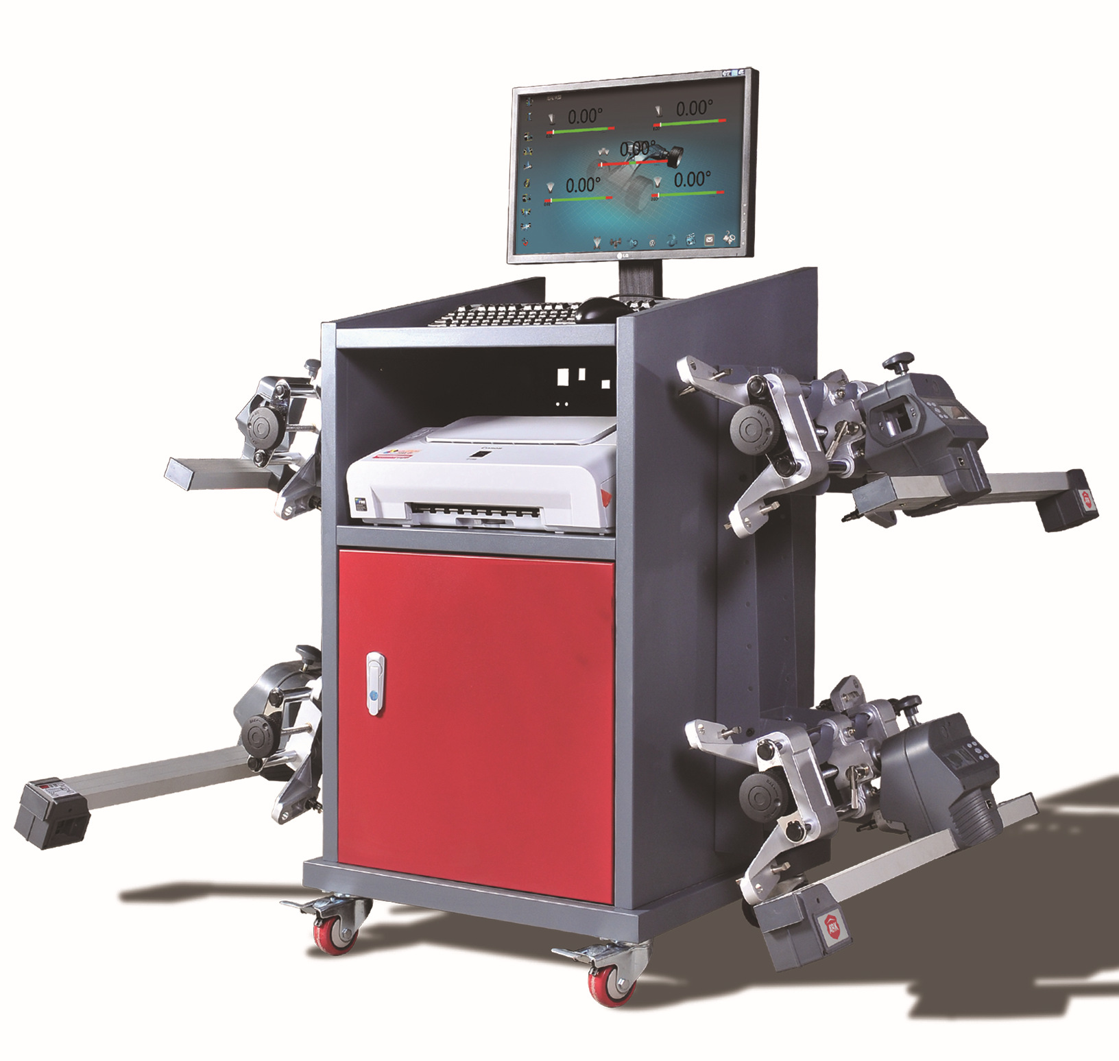 厂家直接供应汽车3D四轮定位仪 CY900