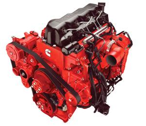 康明斯ISF3.8s4168发动机的实物图
