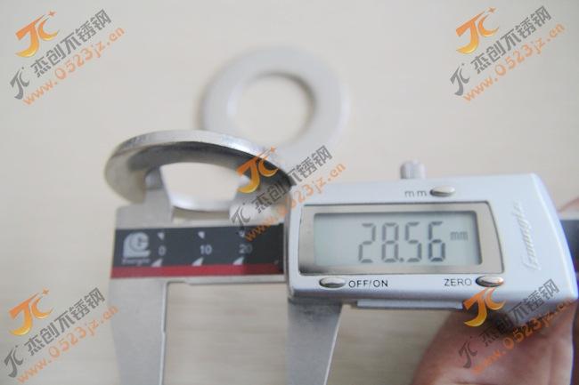 厂价直销M27不锈钢平垫 304不锈钢平垫 国标GB97