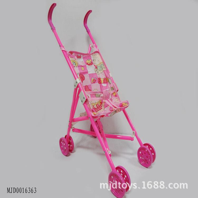 热销儿童过家家益智推车玩具 婴儿推车带娃娃
