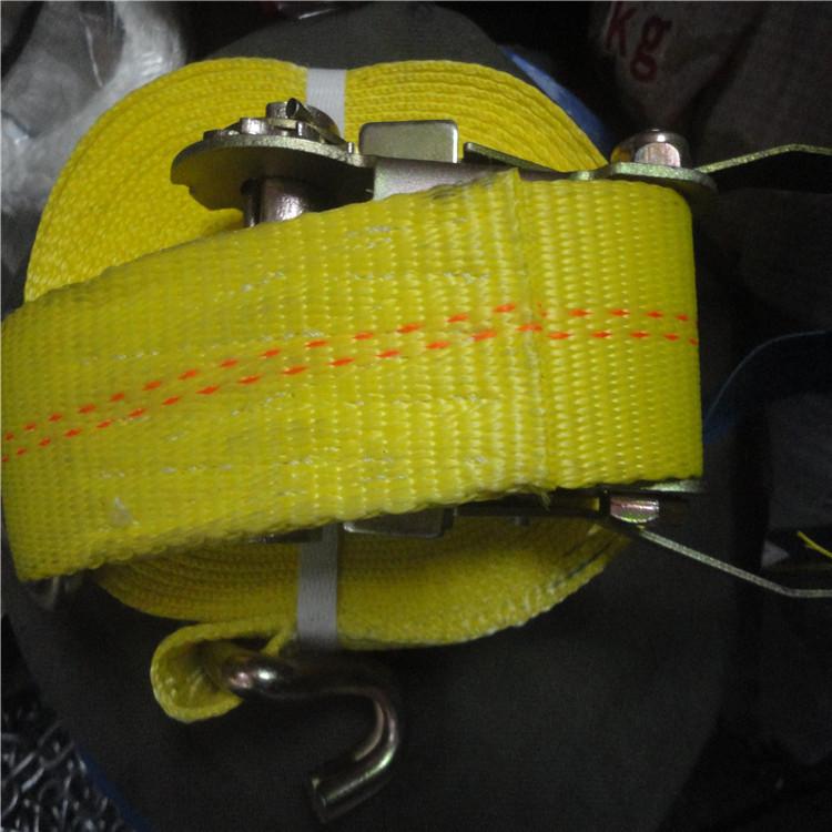 厂家批发邦强50mm*10m涤纶捆绑带/拉紧器/货车用收紧器捆绑