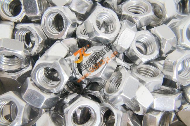 厂价直销201不锈钢达标螺母 M12不锈钢螺母