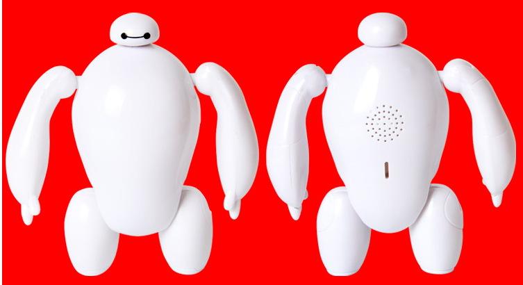 超能陆战队大白胖子拼装机器人带声 灯大白手办玩具