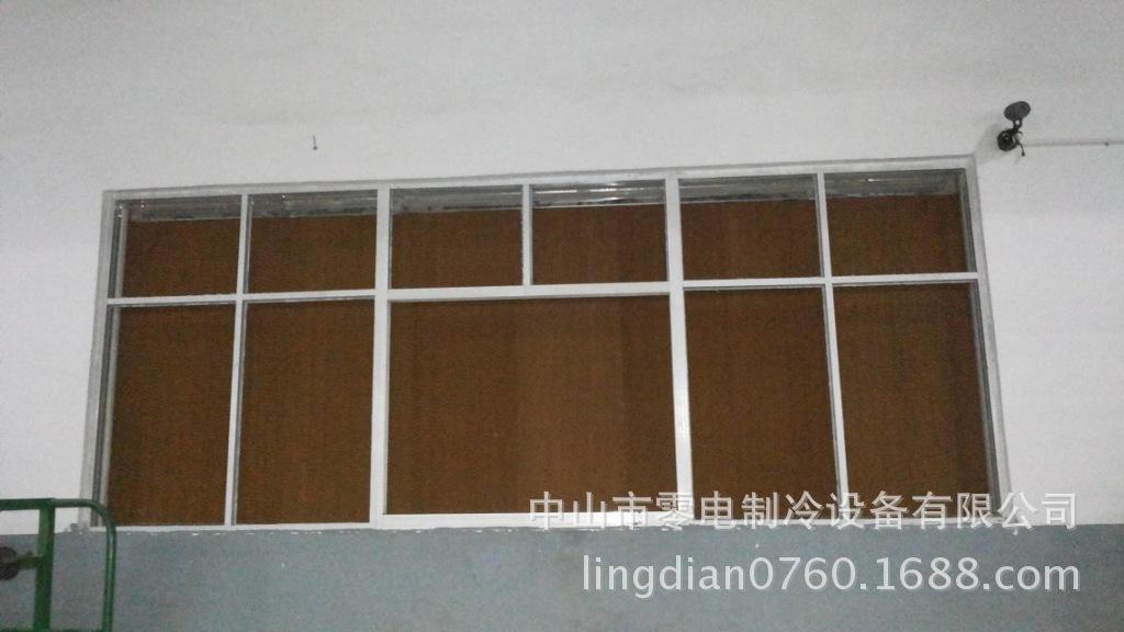 中山南朗纺织厂铁皮车间厂房中央空调降温省电中央空调系统
