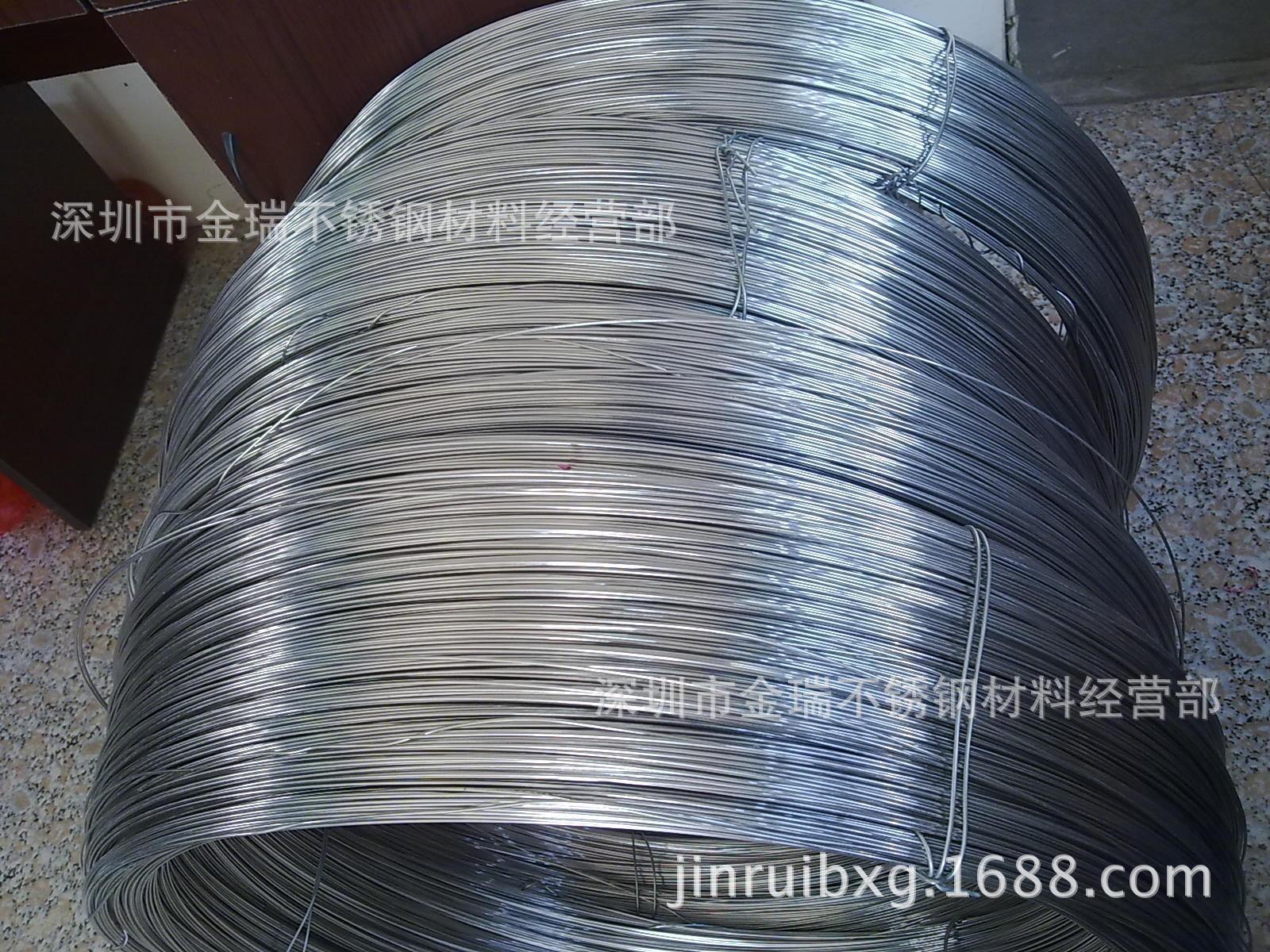 0.6不锈钢丝 不锈钢弹簧丝 201不锈钢线材