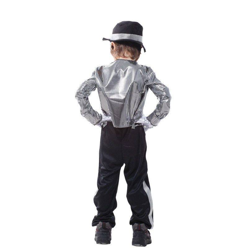 Michael Jackson Costume For Kids Stage Performance Clothing