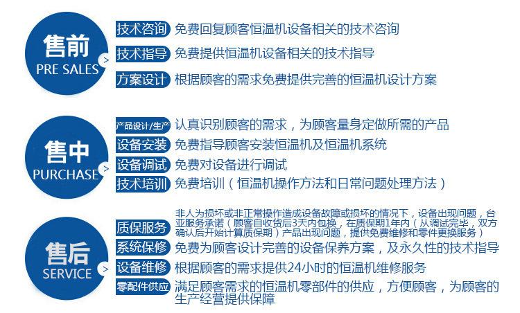 东莞台亚冷水机组29年制冷经验