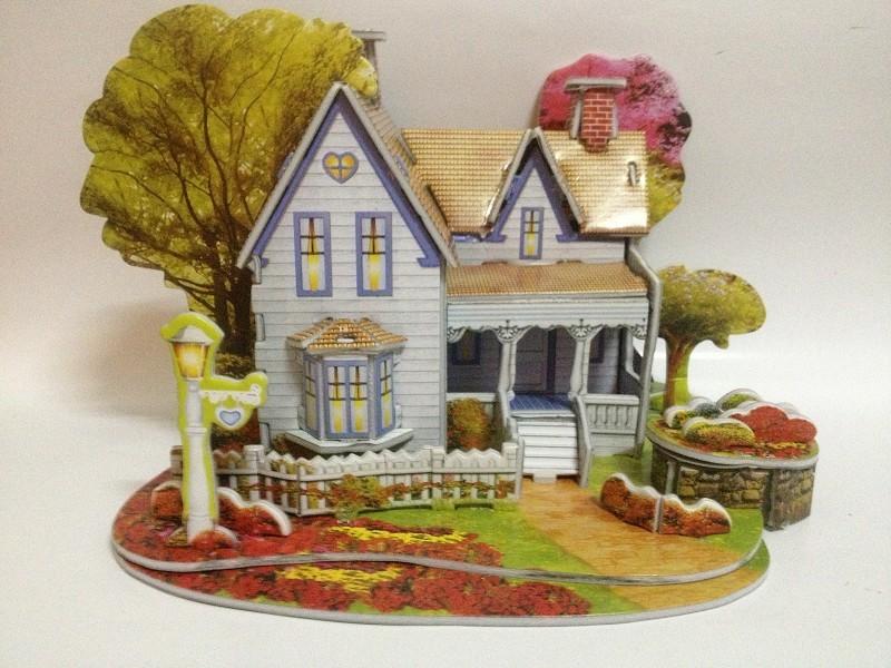 儿童玩具 3d立体拼图 益智儿童 儿童diy手工 纸质 模型玩具 阿里巴巴