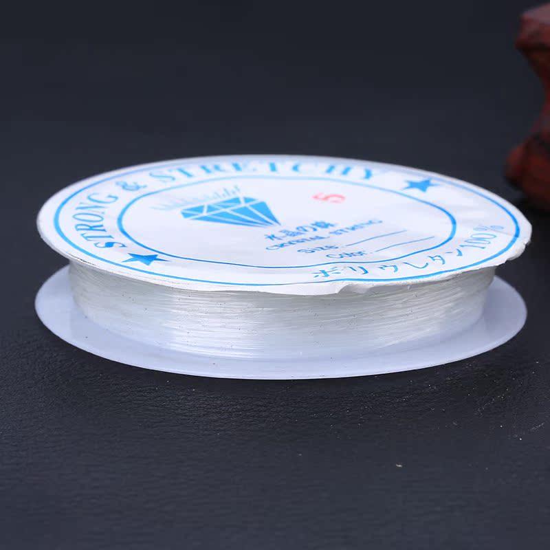 厂家直销 弹力 水晶线绳串珠 DIY饰品配件串珠必备线布艺工艺品