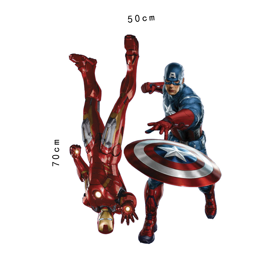 Marvel39s The Avengers Iron Man 3D Wall