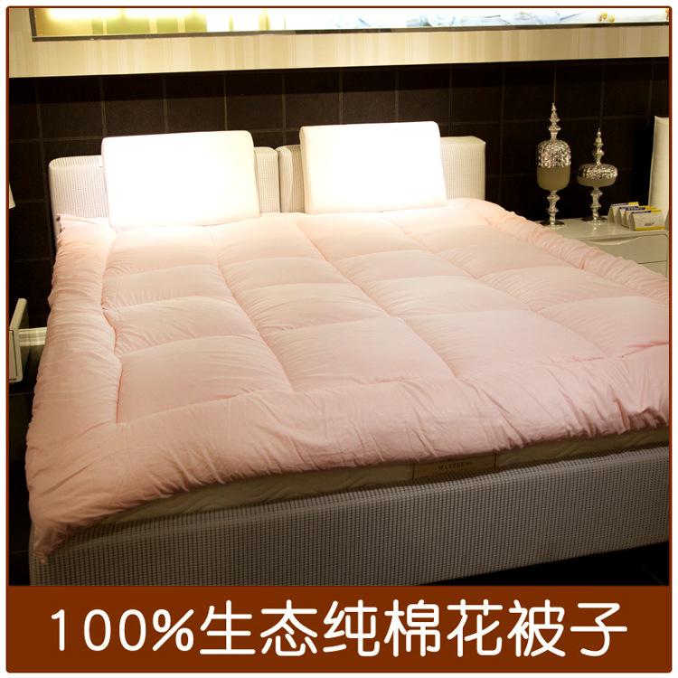 学生酒店宾馆棉胎 棉被 单人冬被 舒适纤维棉被有网被批发加工
