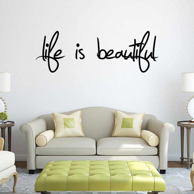 Wall sticker home decor removable art vinyl decal quote aus stock fast post ebay Home decor wall decor australia