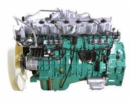 锡柴CA6DL1-26E3发动机的实物图