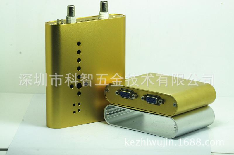 厂家供应:扩音器铝合金外壳、HDMI转接器铝型材壳体108*26